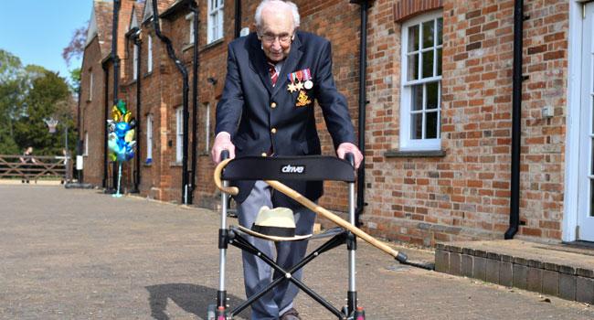 World War II Veteran Raises £18m For UK Health Workers