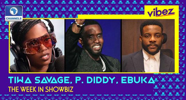 Vibez Ep 17: Tiwa Savage Rocks With Diddy, Ebuka Returns + More