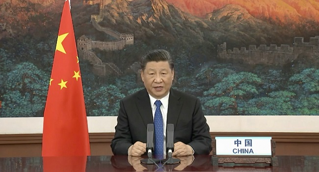Chinese President Xi Defends COVID-19 Response, Offers Vaccine When Ready