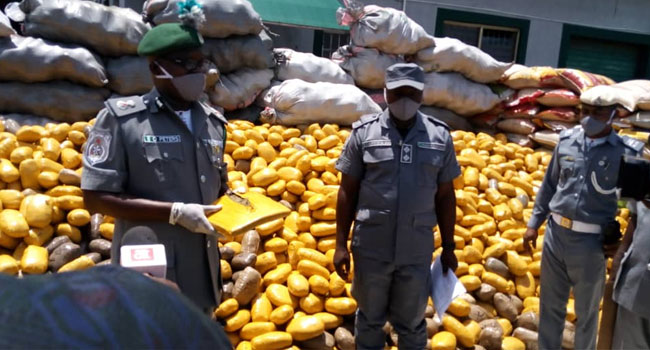 Customs Seize Suspected Hard Drugs Worth N1bn In Lagos