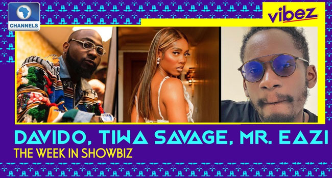 VIBEZ: Davido, Tiwa Savage, Mr Eazi Rule Billboard + More