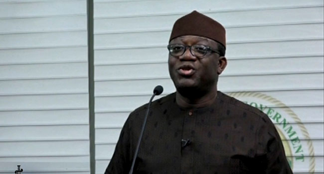 COVID-19: We Must Reduce The Cost Of Governance, Says Fayemi
