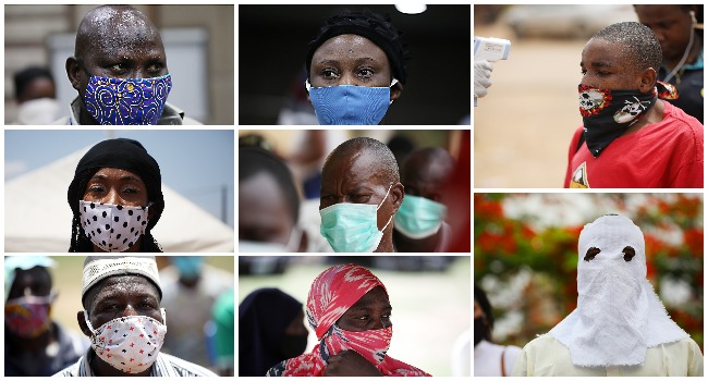 PHOTOS: Masking Away The Pandemic
