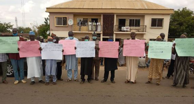 Nasarawa LG Pensioners Protest Non-Payment Of Entitlements