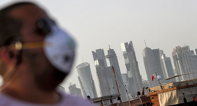 COVID-19: Qatar Imposes Mandatory Masks On Pain Of Prison
