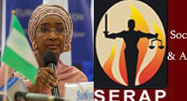 SERAP Sues FG, Seeks Details Of 'Payment Of ₦729bn To Poor Nigerians'