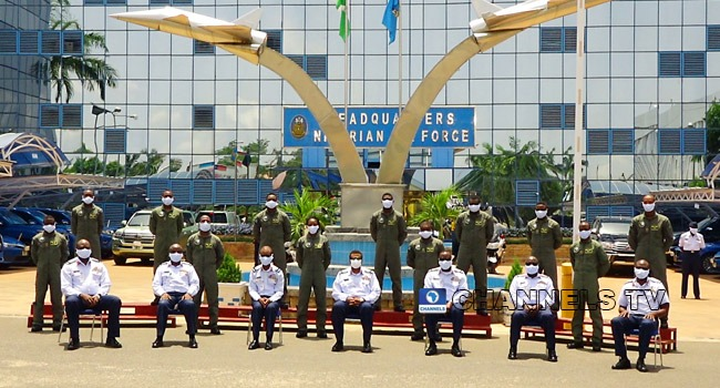 PHOTOS: Air Force Wings More Pilots, Restates Commitment To Security
