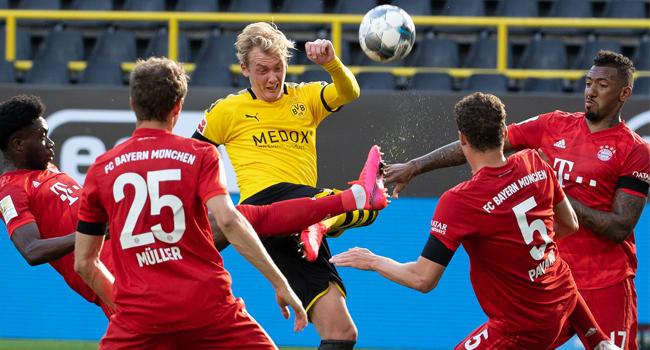 Bayern Beat Dortmund To Close In On Bundesliga Title