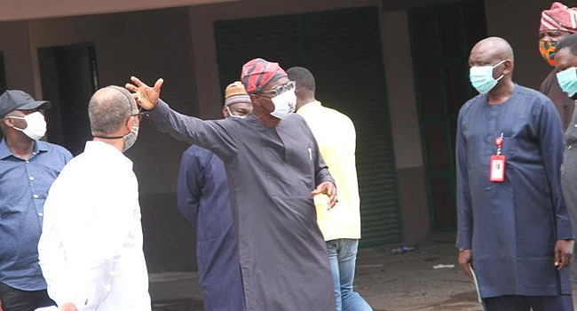 PHOTOS: EFCC Hands Over Diezani's Forfeited Property To Lagos For Isolation Centre
