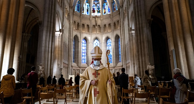 French Churches Reopen After Easing Of COVID-19 Restrictions