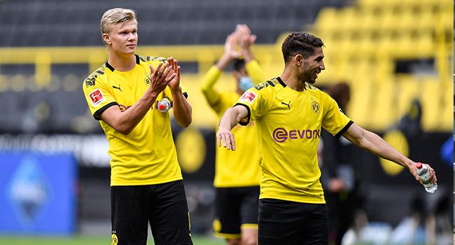 Dortmund Thrash Schalke As Bundesliga Makes 'Very Strange' Return