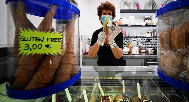 Italians Celebrate Lockdown End With Ice Cream
