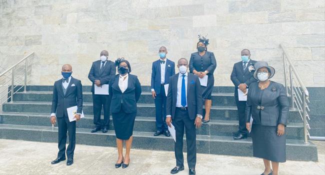 Sanwo-Olu Swears In Eight Judges