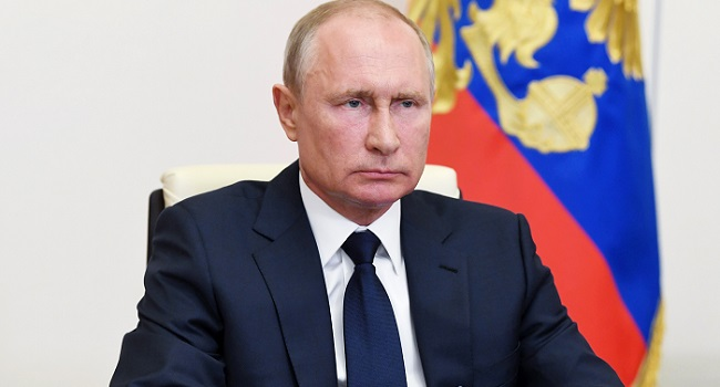 Putin Lifts Russia's COVID-19 'Non-working' Period From Tuesday
