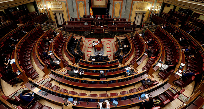 Spain Lawmakers Extend COVID-19 State Of Emergency