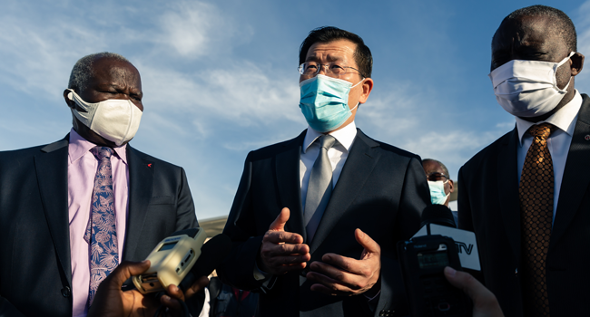 China Sends Doctors, Equipment To Help Zimbabwe Fight COVID-19