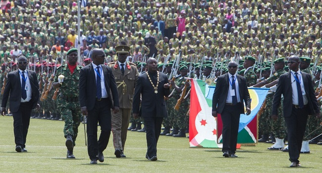 Former Burundi President To Be Buried In State Funeral
