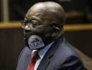"Former South African President Jacob Zuma appears at the Pietermaritzburg High Court in Pietermaritzburg, South Africa, on June 23, 2020. - Former President Zuma stands accused of taking kickbacks before he became president from a 51 billion rand (3.4 billion US dollar) purchase of fighter jets, patrol boats and military equipment manufactured by five European firms, including French defence company Thales. (Photo by KIM LUDBROOK / POOL / AFP) / ""The erroneous mention[s] appearing in the metadata of this photo by KIM LUDBROOK has been modified in AFP systems in the following manner: [on June 23, 2020] instead of [on June 22, 2020]."