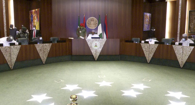 Buhari, Osinbajo, Governors, Giadom Attend APC NEC Meeting