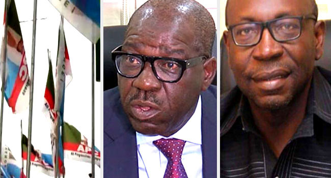 Ize-Iyamu Asks Obaseki To Set Aside His Anger And Return To APC