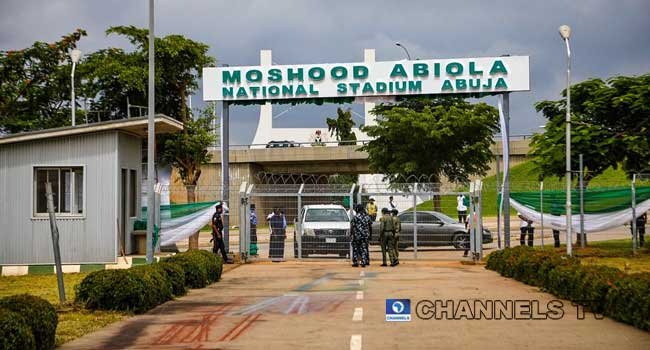 PHOTOS: FG Commissions MKO Abiola Stadium In Abuja