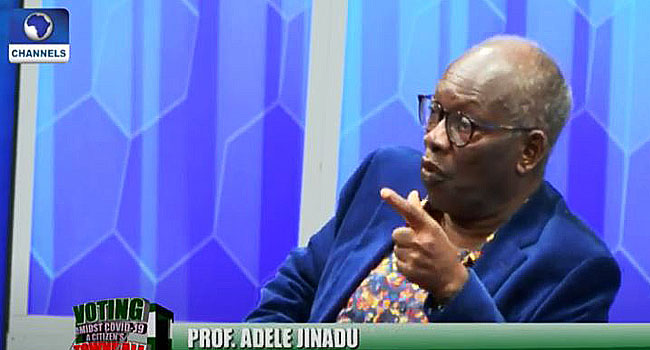 I Don't Think INEC Should Provide Face Masks To All Voters – Professor Of Pol Science