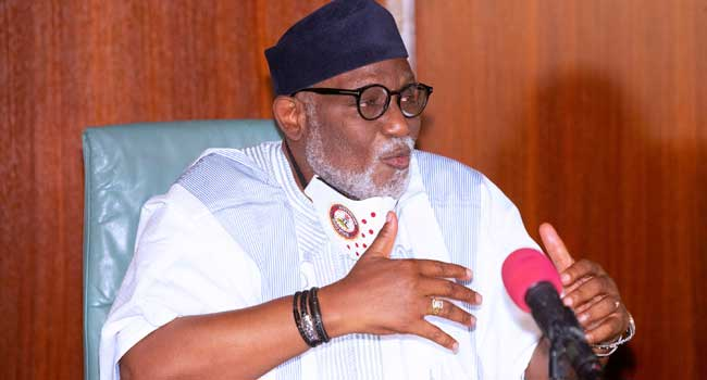 'There Must Be Gatekeepers': Gov Akeredolu Defends Calls For Social Media Regulation