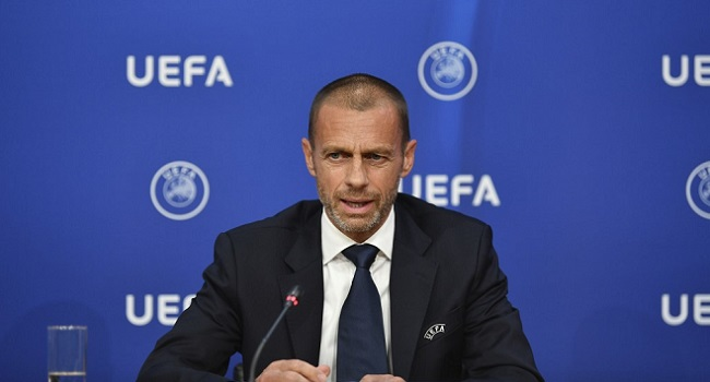 UEFA Boss Ceferin Defends Decision To Allow Fans Into Super Cup