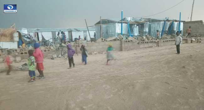 Rainstorm Wreaks Havoc In Borno IDP Camp