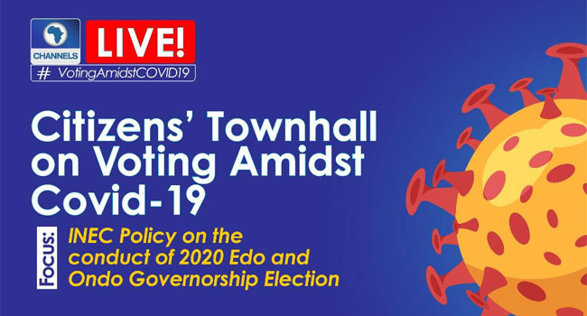 LIVE: Citizens Townhall On Voting Amidst COVID-19