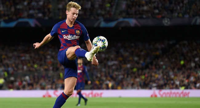 Barcelona Lose De Jong To Injury For 'Several Weeks'