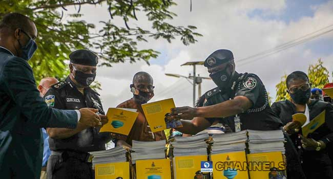 IGP Unveils COVID-19 Guidelines For Law Enforcement Officers