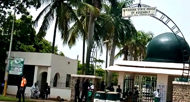 Tight Security At Kaduna Assembly Over Alleged Plot To Impeach Speaker