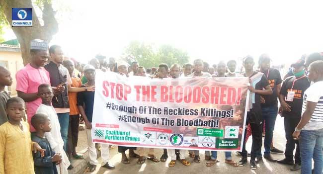 Banditry: Katsina Youths Stage Protest Against Killings