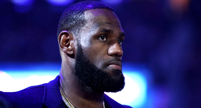 Basketball Star LeBron James Seeks To Promote African-American Voting Rights