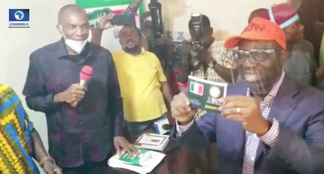 Edo State Governor, Godwin Obaseki, Joins PDP