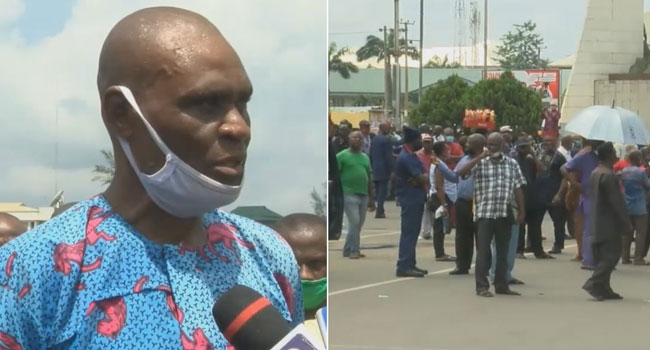 Imo Pensioners Protest Non-Payment Of Pension Arrears