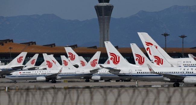 Beijing Airports Cancel 1,255 Flights Over Virus Fears