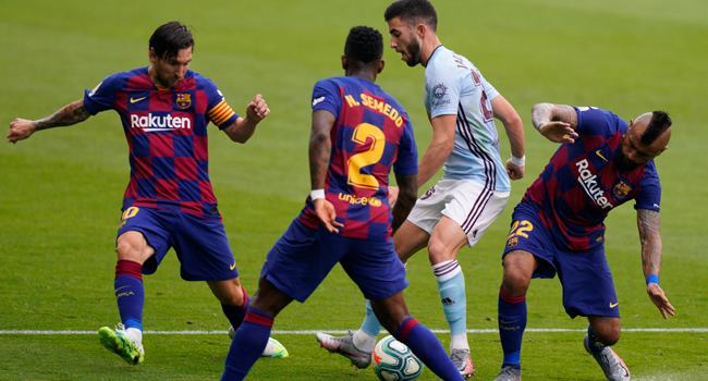 Barcelona Held By Celta Vigo To Give Madrid Advantage In Title Race