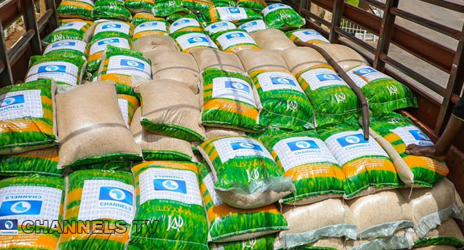 COVID-19 Relief: Channels Media Group Donates 400 Bags Of Rice To Support FCTA