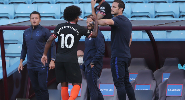 Chelsea's Willian And Pedro Sign On For Rest Of Season