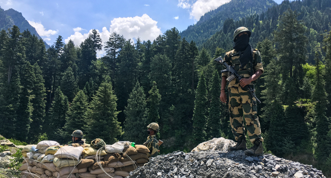 Indian Soldier Killed In Border Showdown With Chinese Troops
