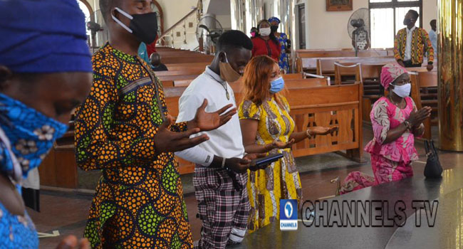 PHOTOS: Churches Reopen As FG Eases COVID-19 Restrictions