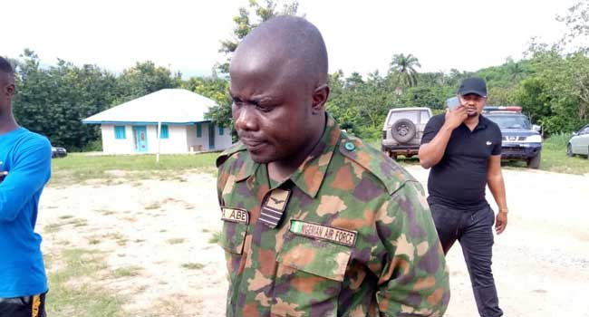 Air Force Nabs Fake Officer In Ondo