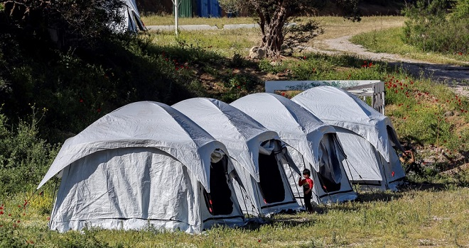 Knife Crime Looms Larger Than COVID-19 In Greek Refugee Camp