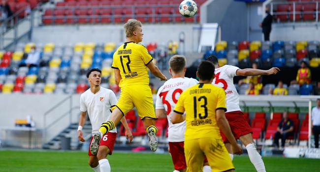 Haaland's Late Winner For Dortmund Delays Bayern Munich Title Party