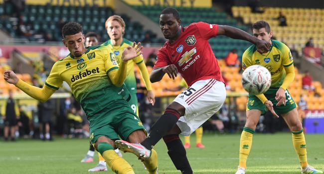 Ighalo Scores As Man Utd Edge 10-Man Norwich To Reach FA Cup Semi-Finals