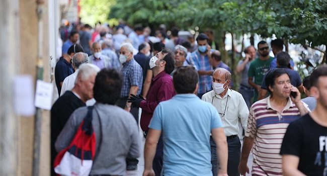 Iran Records Highest COVID-19 Cases In Over  A Month