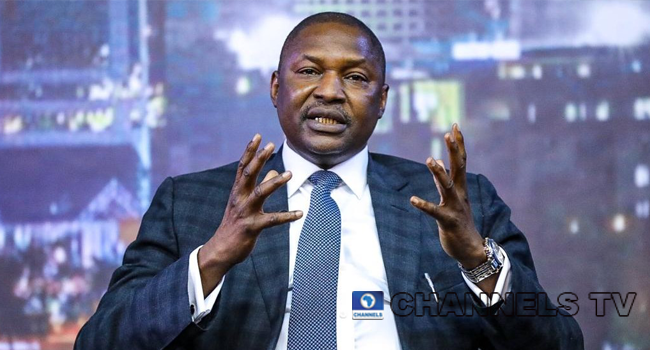 Attorney General of the Federation, Abubakar Malami, made an appearance on GCFRNG on June 30, 2020.