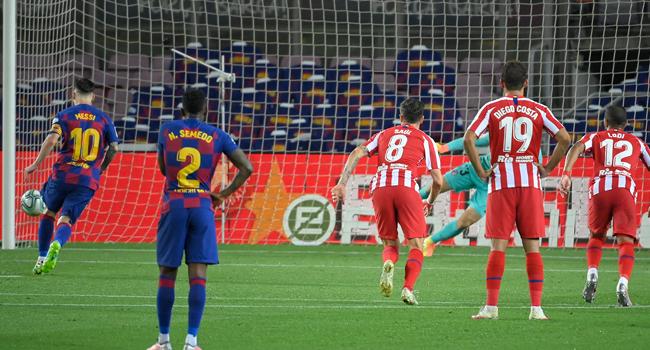 Atletico Target First La Liga Victory Over Barcelona Since 2010